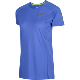 inov-8 Base Elite Camiseta Manga Corta Mujer, azul